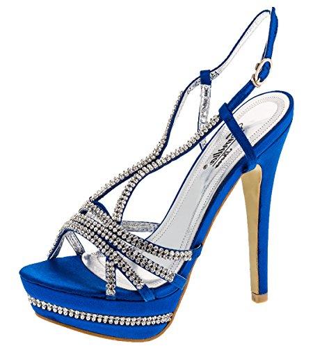 Shayenne - Zapatillas altas Mujer Azul