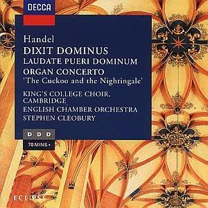 Handel;Dixit Dominus/Organ: Buchanan, Mackay: Amazon.es: Música