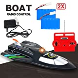 Large Powerful Super High Speed Remote Control Fast RC Racing Boat - 14+ Age Extra Battery Included (Assorted Colors)