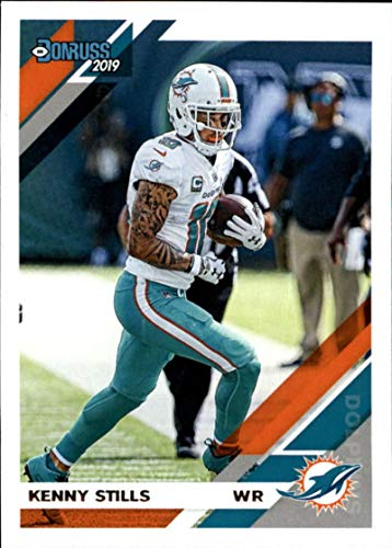 2019 Donruss Football #148 Kenny Stills Miami Dolphins Official NFL Football Card Made by Panini
