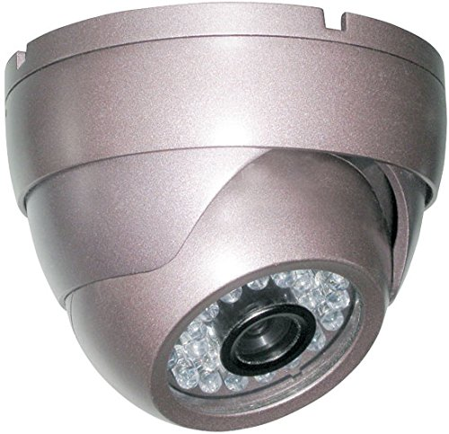 Pyle PHCM36 Night Vision Outdoor Security Surveillance Camera 1/4-Inch Sony CCD 420TVL, 12V/500mA Power Adapter by Pyle (Image #2)