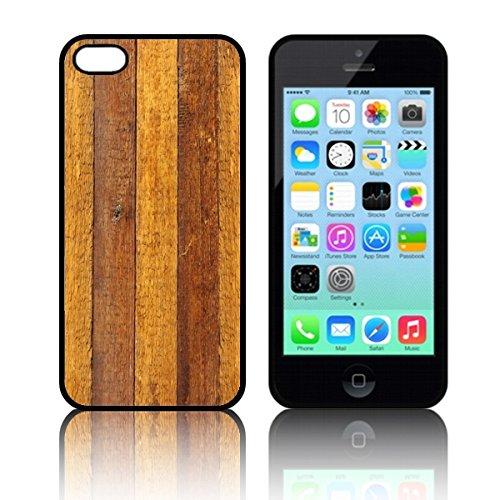 Coque 'bois rustique' Étui Housse Apple iPHONE 5C en silicone TPU