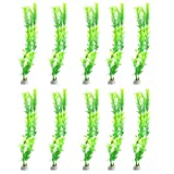 buy Jardin Aquarium Fish Tank Grass Plants Ornament Décor, 10-Piece, Green now, new 2019-2018 bestseller, review and Photo, best price $6.26