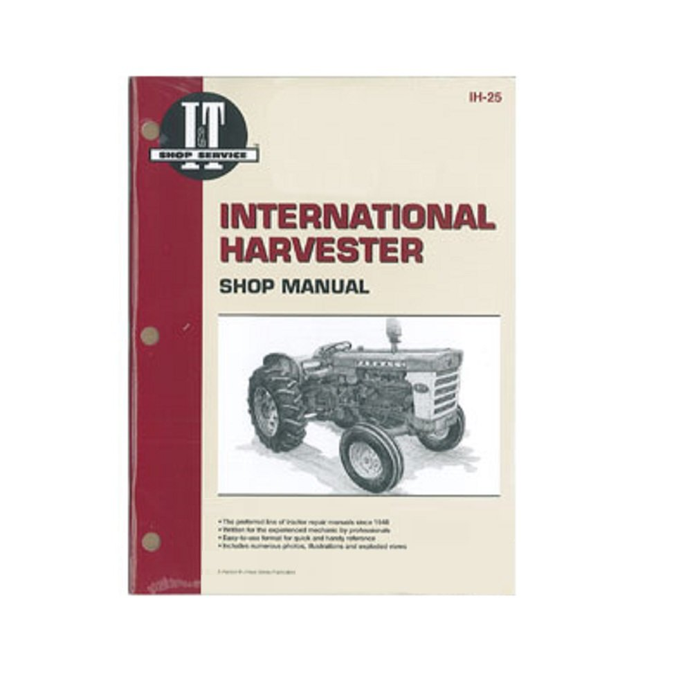 Amazon.com: IH25 New Case/International Harvester Farmall Shop Manual 460  560 606 660 2606: Industrial & Scientific