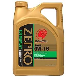 ZEPRO Eco Medalist 0W-16 Engine Oil - 5 Quart