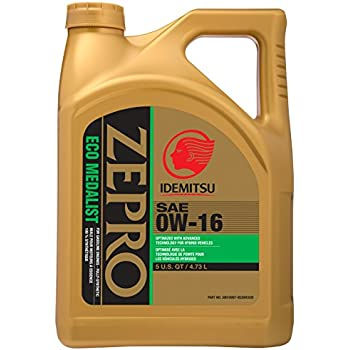 Toyota genuine sae 0w 16 synthetic motor oil for Sae 0w 20 synthetic motor oil