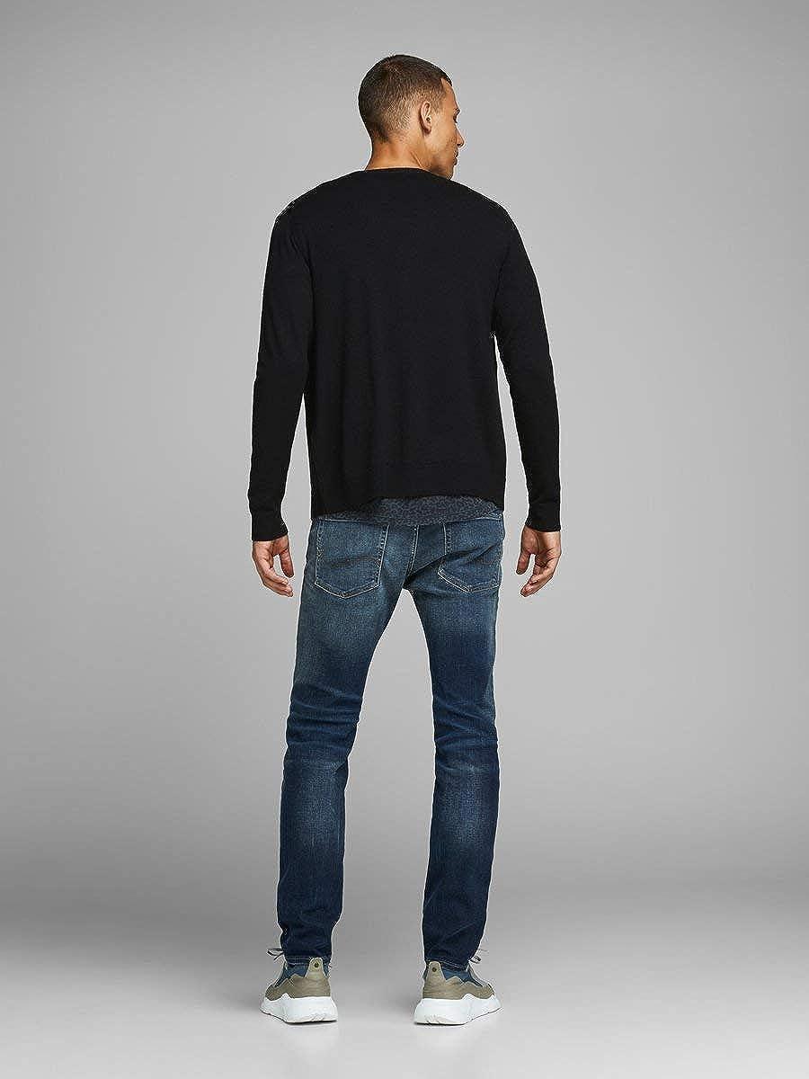 Jack /& Jones Mens Jprmark Merino Knit Cardigan Sweater