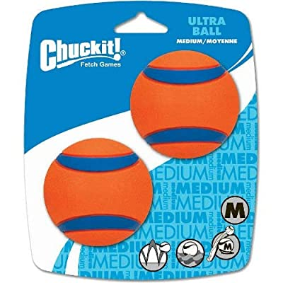 Chuckit! Med Ultra Ball 2 Pack: Computers & Accessories