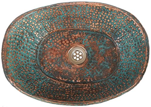 Egypt gift shops Rustic Verde Green Patina Old World Bathtub Bath Tub Design Pure Natural Copper Bathroom Vessel Sink Hand Wash Toilet Lavatory Basin Remodel Decor Reconditioning Makeover Renovation by Egypt Gift Shops