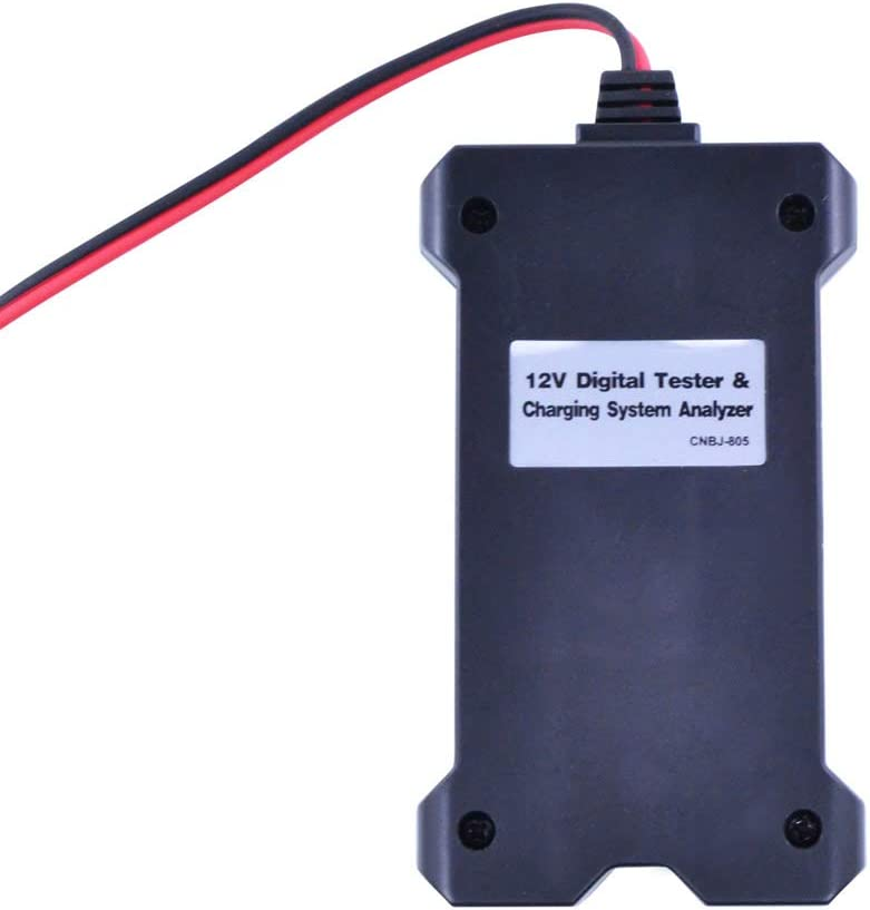 Universal 12V Digital Battery Tester//Charging System Analyzer