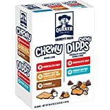 Quaker Chewy Granola Bars and Dipps Variety Pack, 58 Count offers