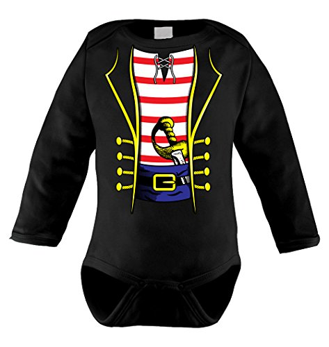 Pirate Costume Long Sleeve Bodysuit
