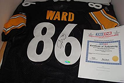 a99acf1ed35 Hines Ward Signed Pittsburgh Steelers Jersey