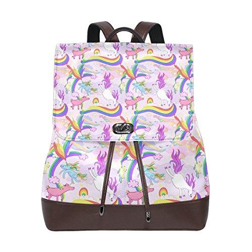Bennigiry Bolso mochila para mujer Multi#003