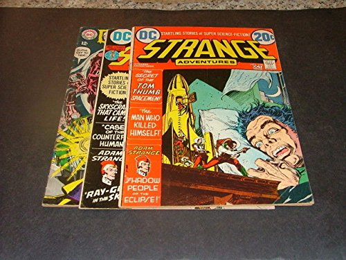 3 Issues Strange Adventures #s 214 (Deadman), 237-238, Silver/Bronze Age DC ()