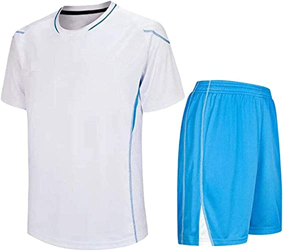 Meijunter Niño Adulto Fútbol Camiseta & Shorts Set - Entrenamiento ...