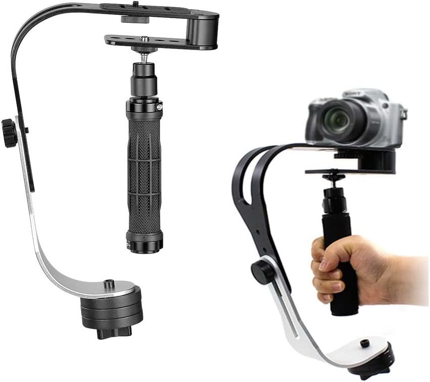 Estabilizador, CAM-ULATA Profesional Mini Portátil Steadycam Vídeo ...