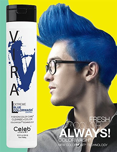 Viral Extreme Blue Color Wash
