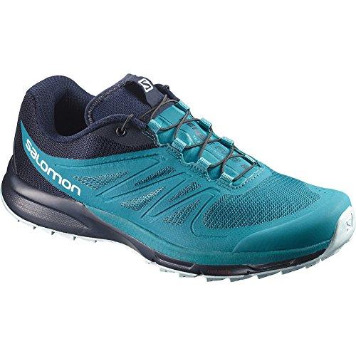 Enamel Shell (Salomon Sense Pro 2 Running Shoe - Women's Enamel Blue/Navy Blazer/Eggshell Blue 10.5)