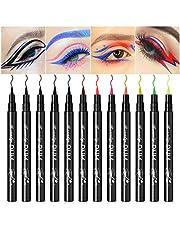 12 Colors Liquid Eyeliner Set