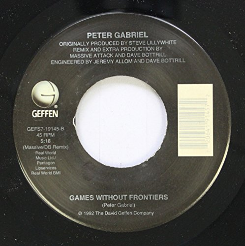 Price comparison product image Peter Gabriel 45 RPM Games Without Frontiers / Steam