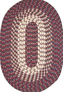 product image for Robin Rug H7054 - Hometown - 24 X 60 Inches - Burgundy