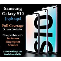 Samsung Galaxy S10 / S10 Plus / S10e HYDROGEL NTPU 3D Full Cover Screen Protector | Easy Application | Case Friendly | (Samsung Galaxy S10 Plus)