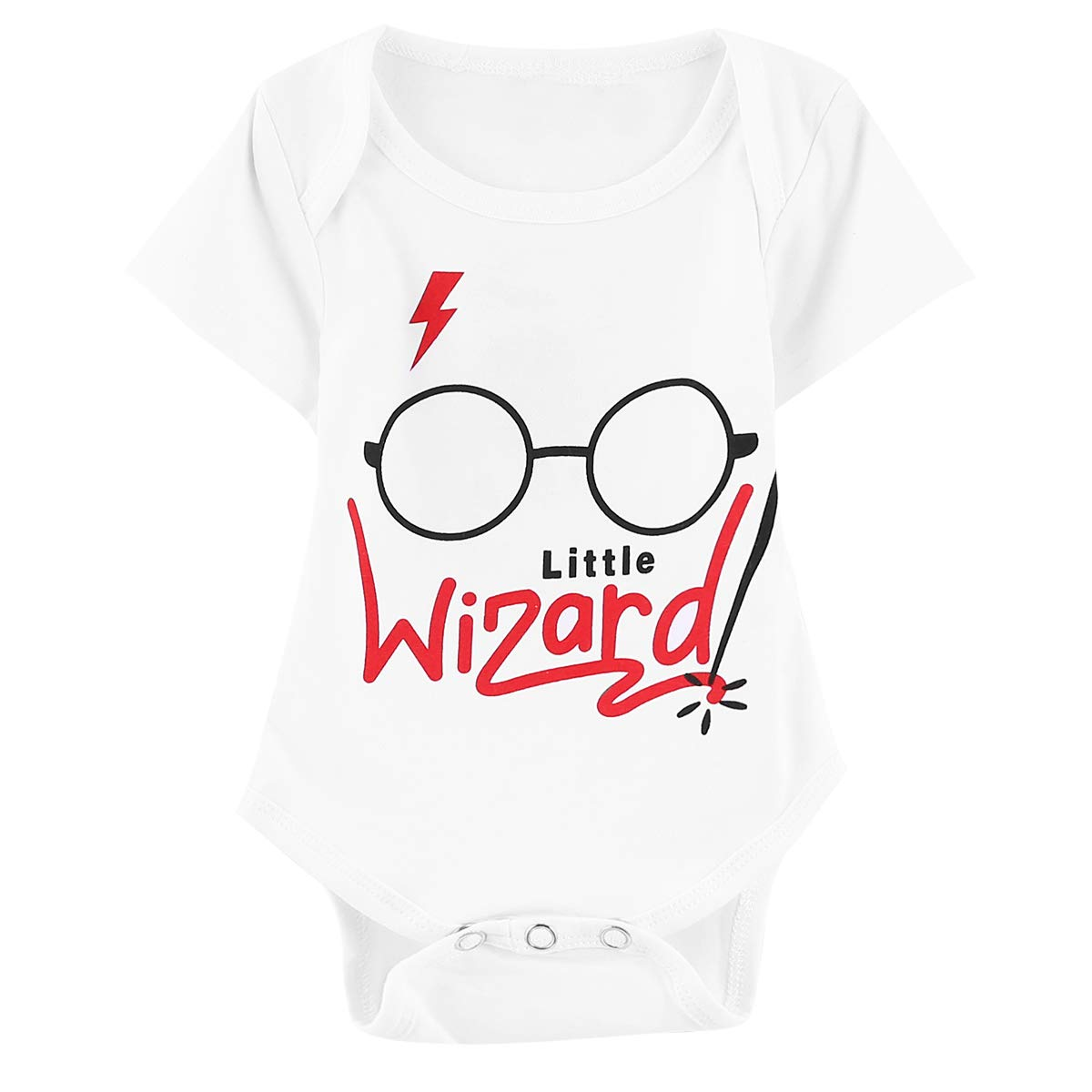 Outfit Set Baby Boy Wizard Magician Funny Romper