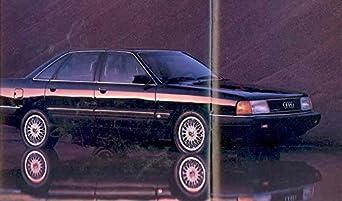 Amazon.com: 1989 Audi Full Line Sales Brochure: Entertainment Collectibles