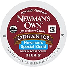Newman's Own Special Blend Coffee, Medium Roast Coffee K-Cup Portion Pack for Keurig K-Cup Brewers (Pack of 80, net wt. 32.1 oz.)