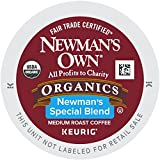 Newmans Own Special Blend Coffee, Medium Roast Coffee K-Cup Portion Pack for Keurig K-Cup Brewers (Pack of 80, net wt. 32.1 oz.)