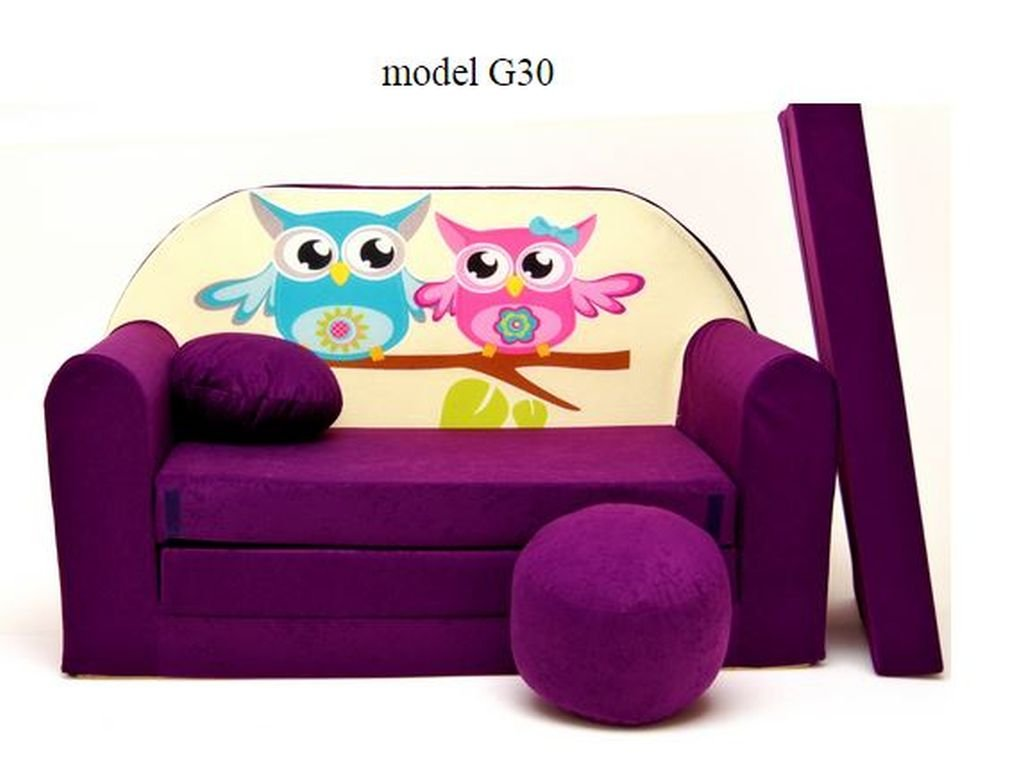 Sofa enfant places se transforme en un canaplit with canap for Canape pour bebe