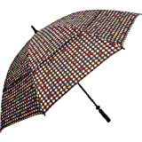 Haas-Jordan by Westcott Custom Golf Umbrella, Multicolor