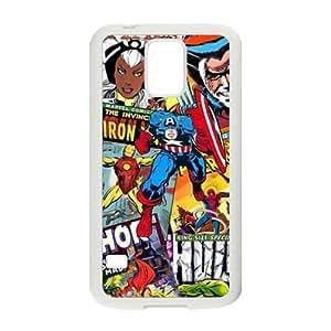 Cartoon Iron Men Black Samsung Galaxy S5 case