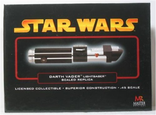 Darth Vader Lightsaber EP III - Wars Master Star Lightsabers Replicas