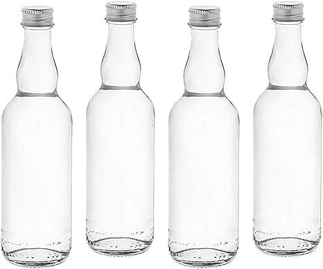Casavetro BOR-TR-100 ml - Botellas pequeñas de cristal con tapón ...
