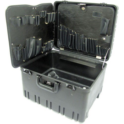 Jensen Tools 377B911 Roto-Rugged Wheeled Case w/ Pallets Only