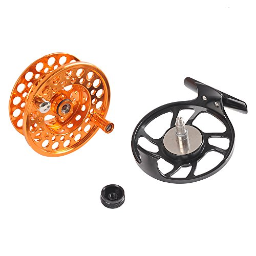 Fiblink saltwater fly fishing reel with large arbor 2 1 bb for Saltwater fly fishing reels