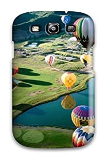 Bruce Lewis Smith Snap On Hard Case Cover Air Balloon Festival2 Protector For Galaxy S3