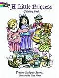 A Little Princess Coloring Book (Dover Coloring Books)