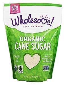 Wholesome Sweeteners Organic Fair Trade Certified Sugar, 16 oz