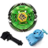 PPKred 4D Metal Fusion Fight Gyroscope BB48 Flame Libra with Single Launcher+Handle Starter Set