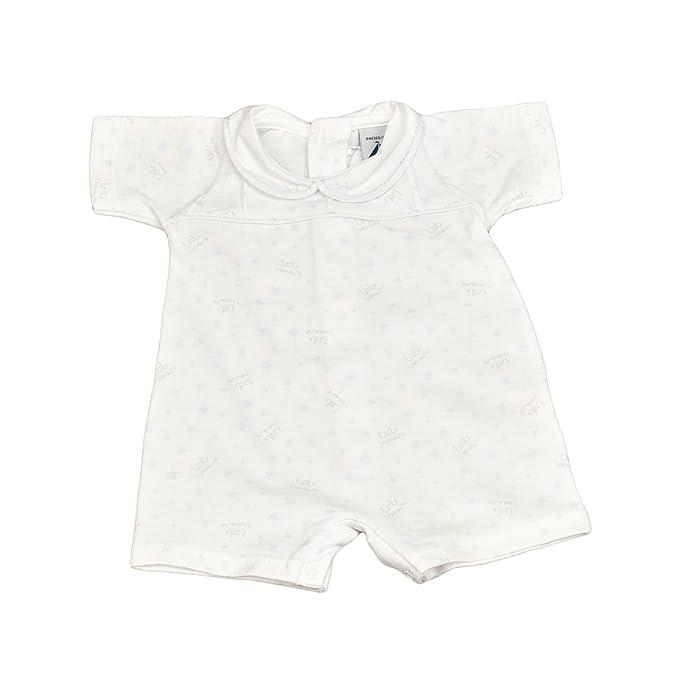 BABIDU 14234 Pelele Estrellas, Unisex bebé, Azul (Celeste 001), 68 (