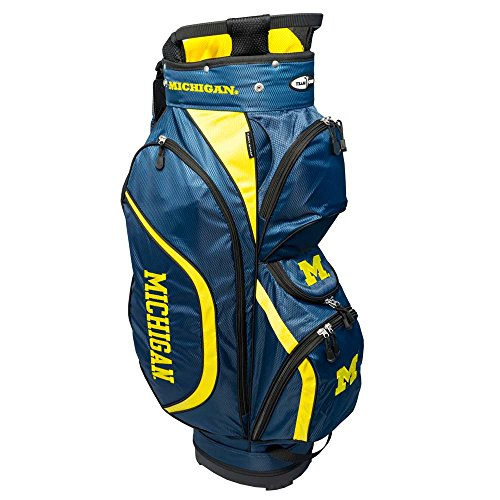 Team Golf NCAA Clubhouse Cart Bag, Michigan by Team Golf