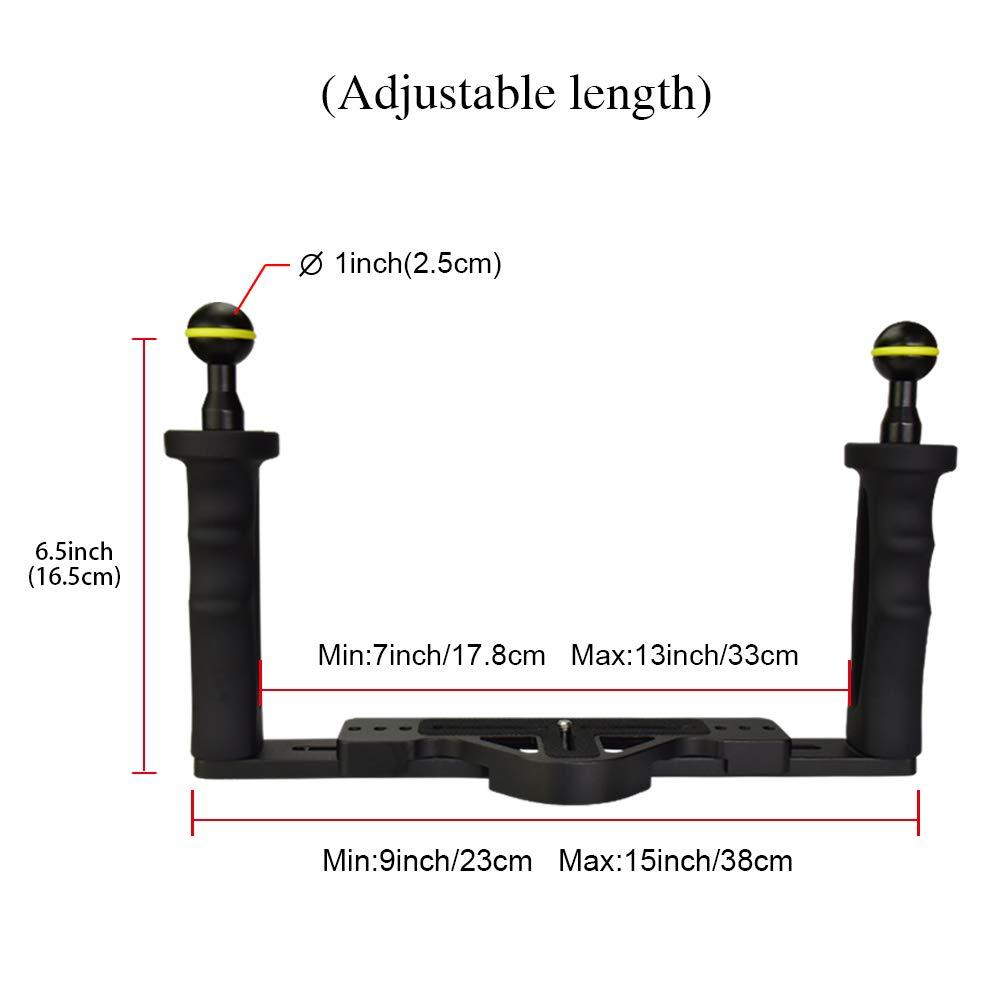 MEIKON Lightweight Aluminium Tray for Underwater Camera housing