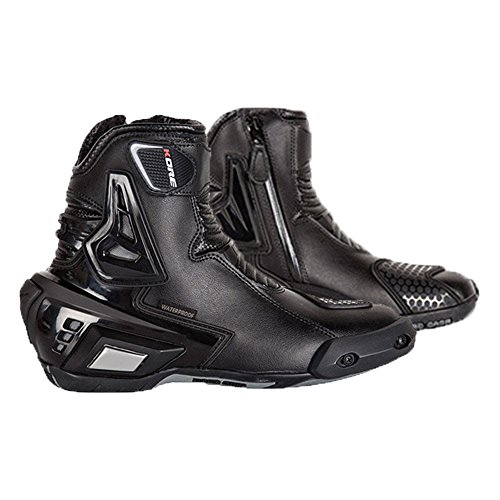 Super Street 900023 Men's Leather Motorcycle racing/Riding Boots (9)