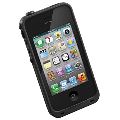 LifeProof Case for iPhone 4/4S - Retail Packaging - Black from Lifeproof