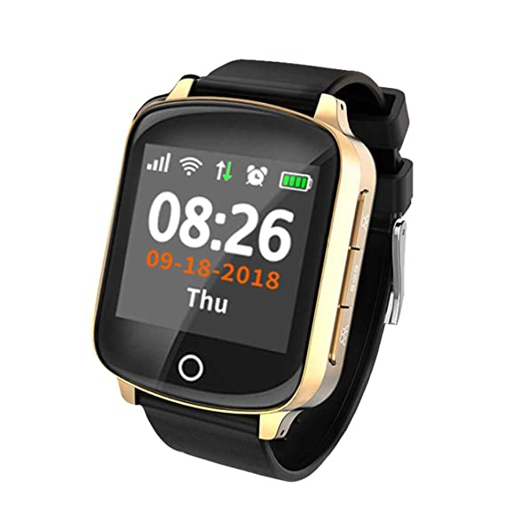 Relojes Inteligentes D100 D200 Ancianos Smart Watch GPS Lbs ...