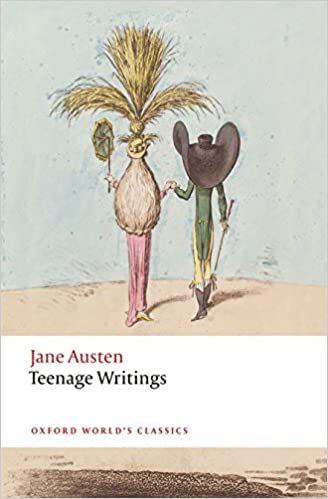 Image result for teenage writings jane austen