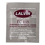 Lalvin EC-1118 Champagne, 5g (0.176 Oz)